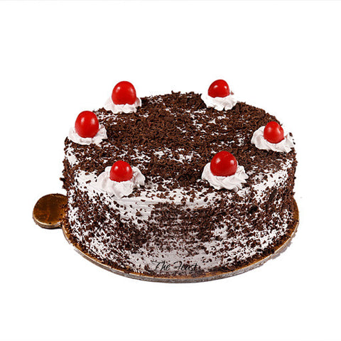 Black Forest Fresh Cream Cake - The Feast Bakery, Jaipur