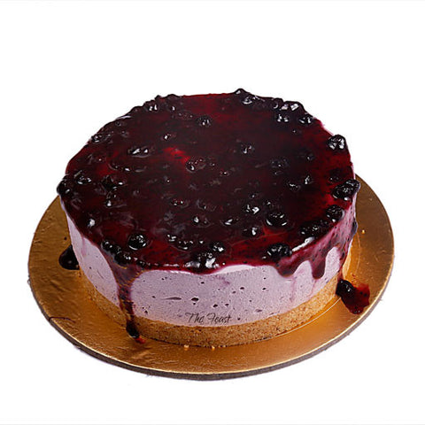 Blueberry Cheesecake - The Feast Bakery, Jaipur