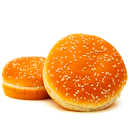 Burger Bun (6 Pcs.) - The Feast Bakery, Jaipur
