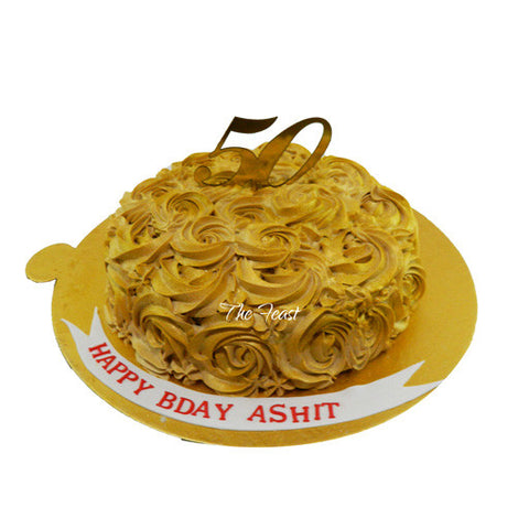 Rose Swirls Cake - The Feast Bakery, Jaipur