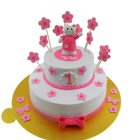 Hello Kitty Cake - The Feast Bakery, Jaipur