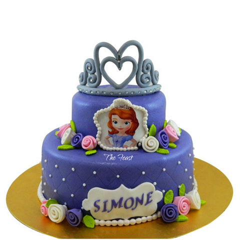 Disney Princess Cake - The Feast Bakery, Jaipur