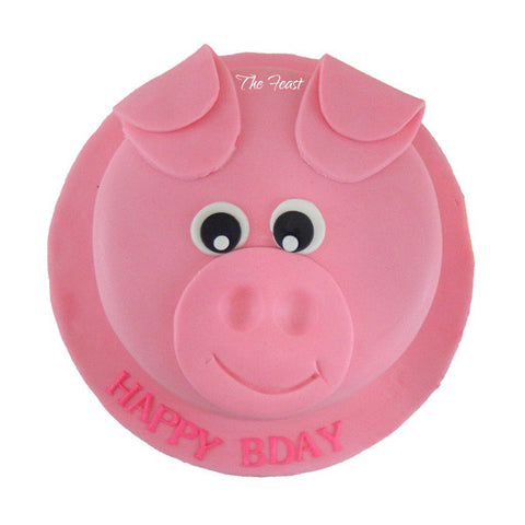 Piggy Cake - The Feast Bakery, Jaipur