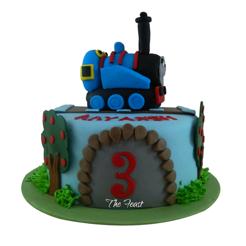 Train Cake - The Feast Bakery, Jaipur