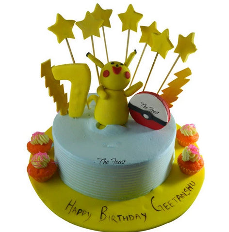 Pokemon Cake - The Feast Bakery, Jaipur