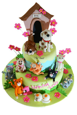 Pets Cake - The Feast Bakery, Jaipur