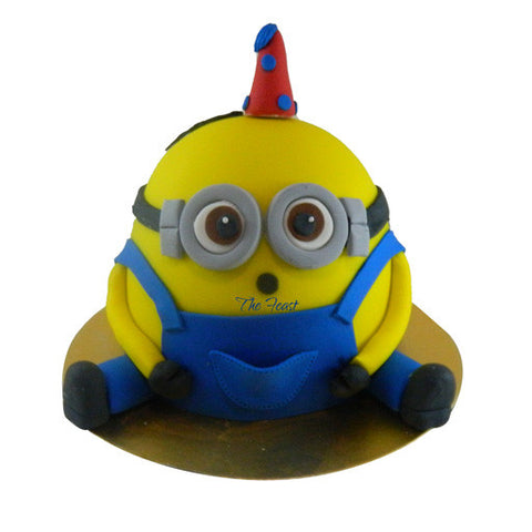 Minion Cake - The Feast Bakery, Jaipur