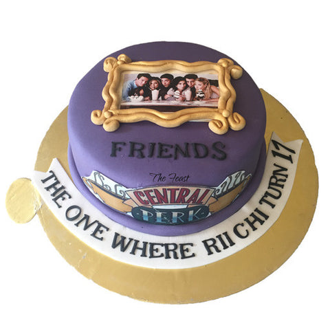 Friends Cake - The Feast Bakery, Jaipur