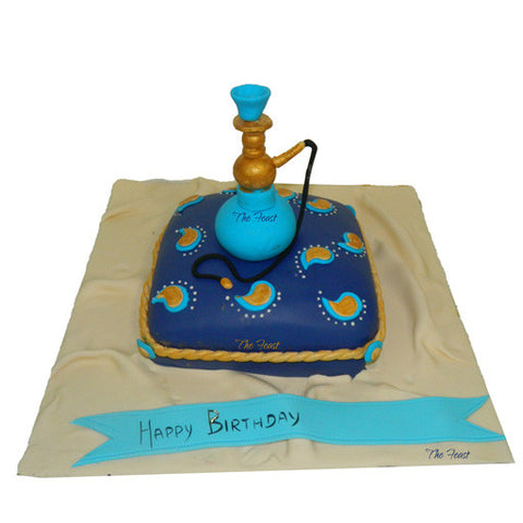 Hookah Cake (Sheesha) - The Feast Bakery, Jaipur