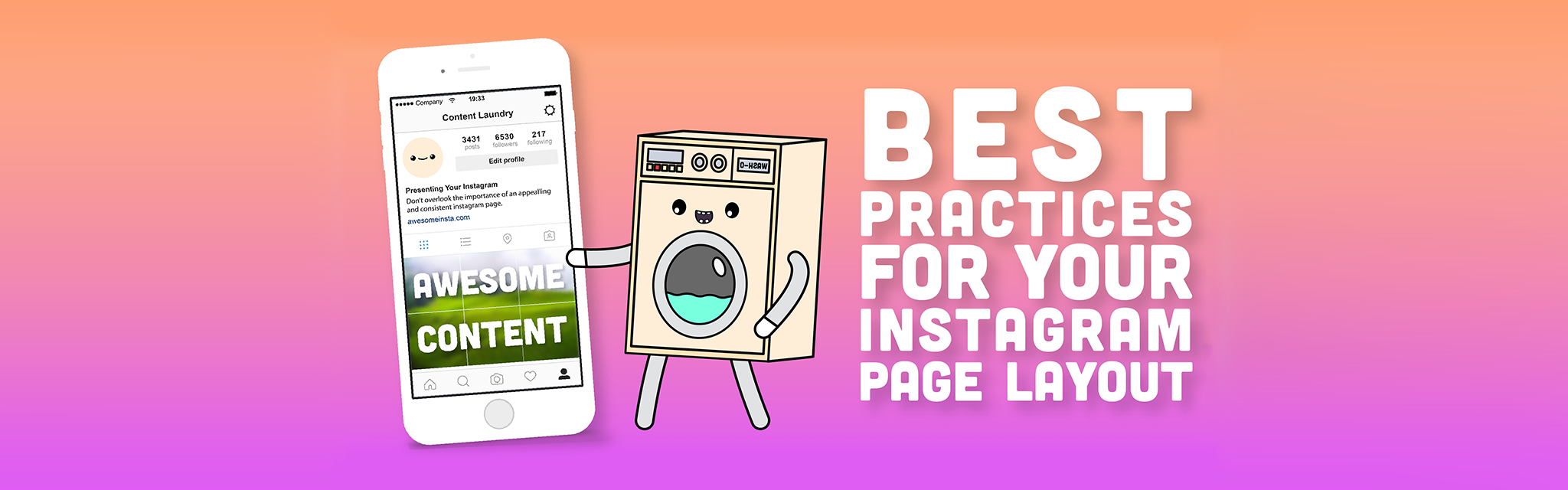 Best Practises For Your Instagram Page Layout