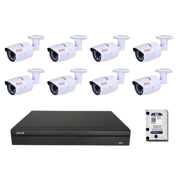 Professional Series  8CH POE 4MP  Network Security System