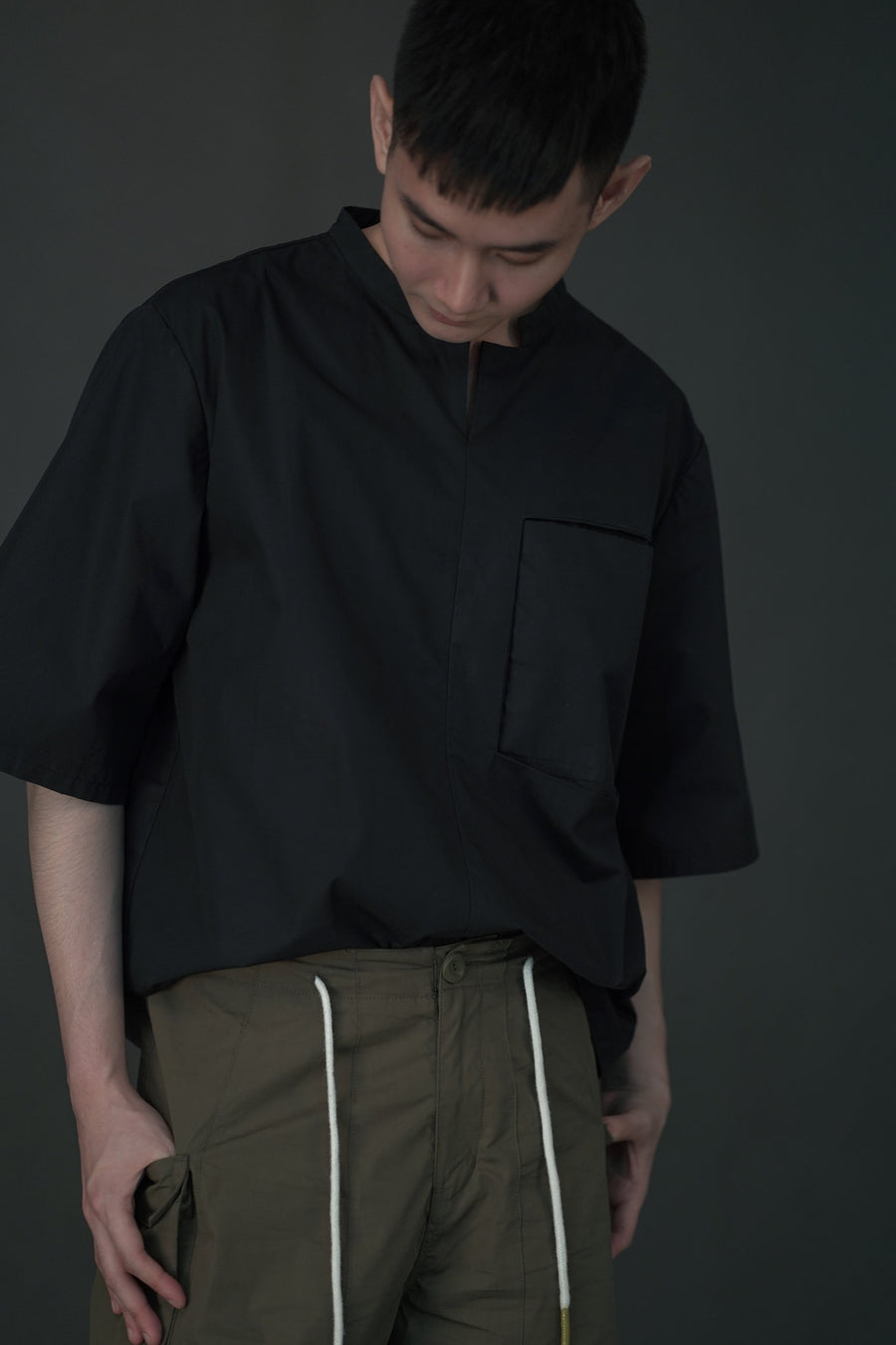 Inverse Pocket Top