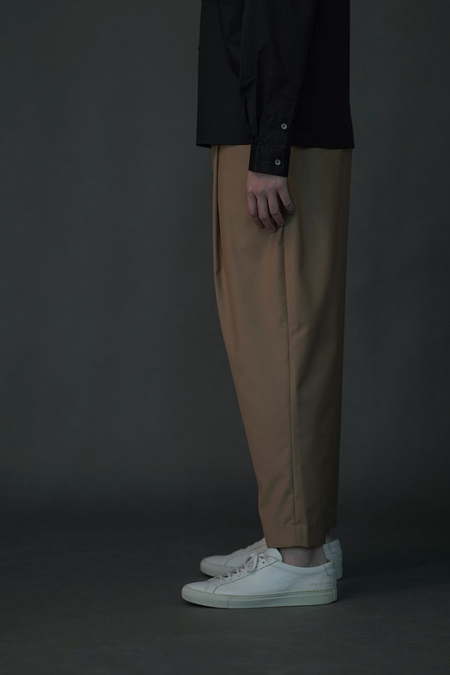 Soft Tailored Pants | Camel