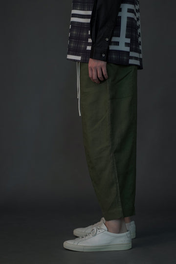 Journeyman Linen Pants | Forest Green