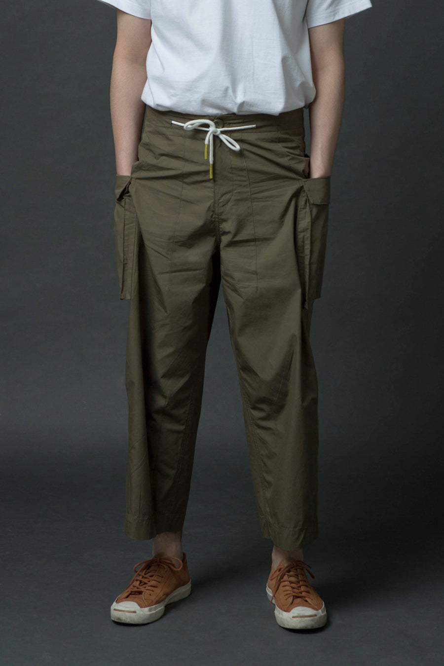 Wide Sculpted Pants