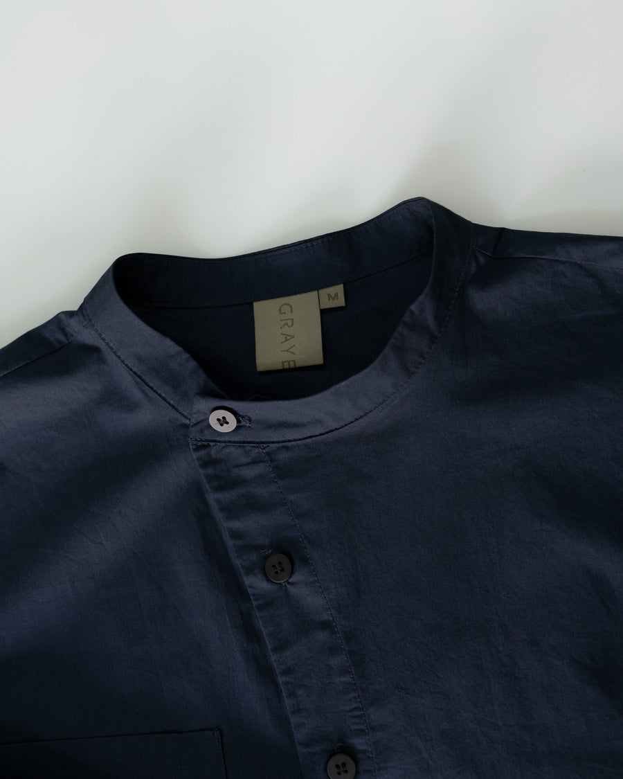 Curved Placket Shirt