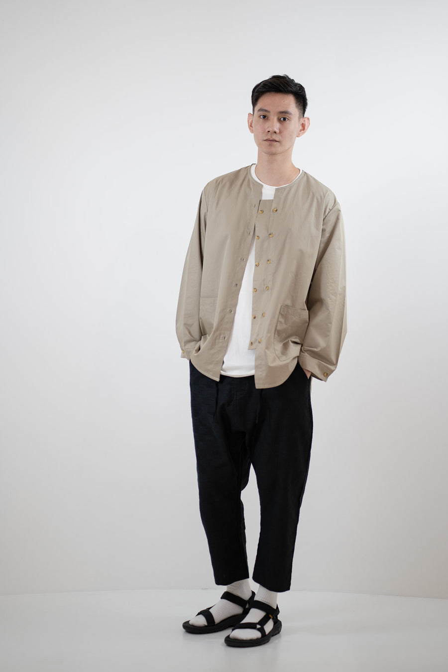 Modular Placket Shirt