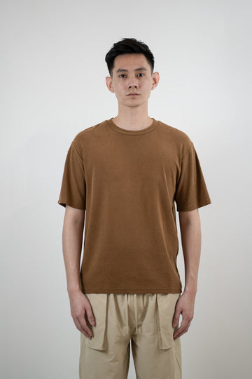 Cupro Tee - Burnt Orange