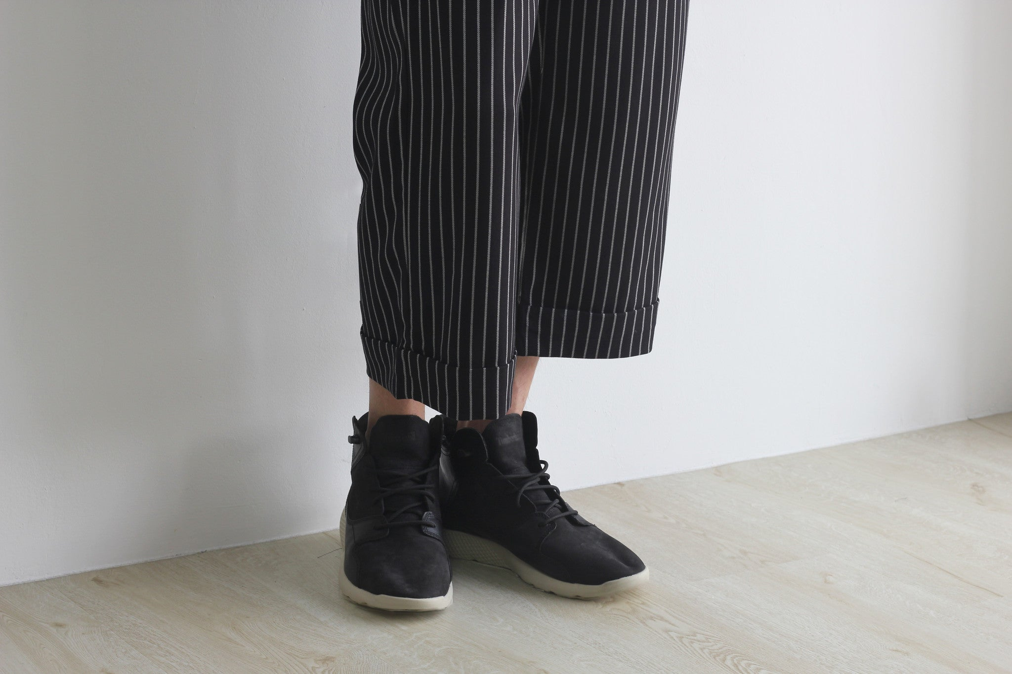 GRAYE | Black Stripe Culottes