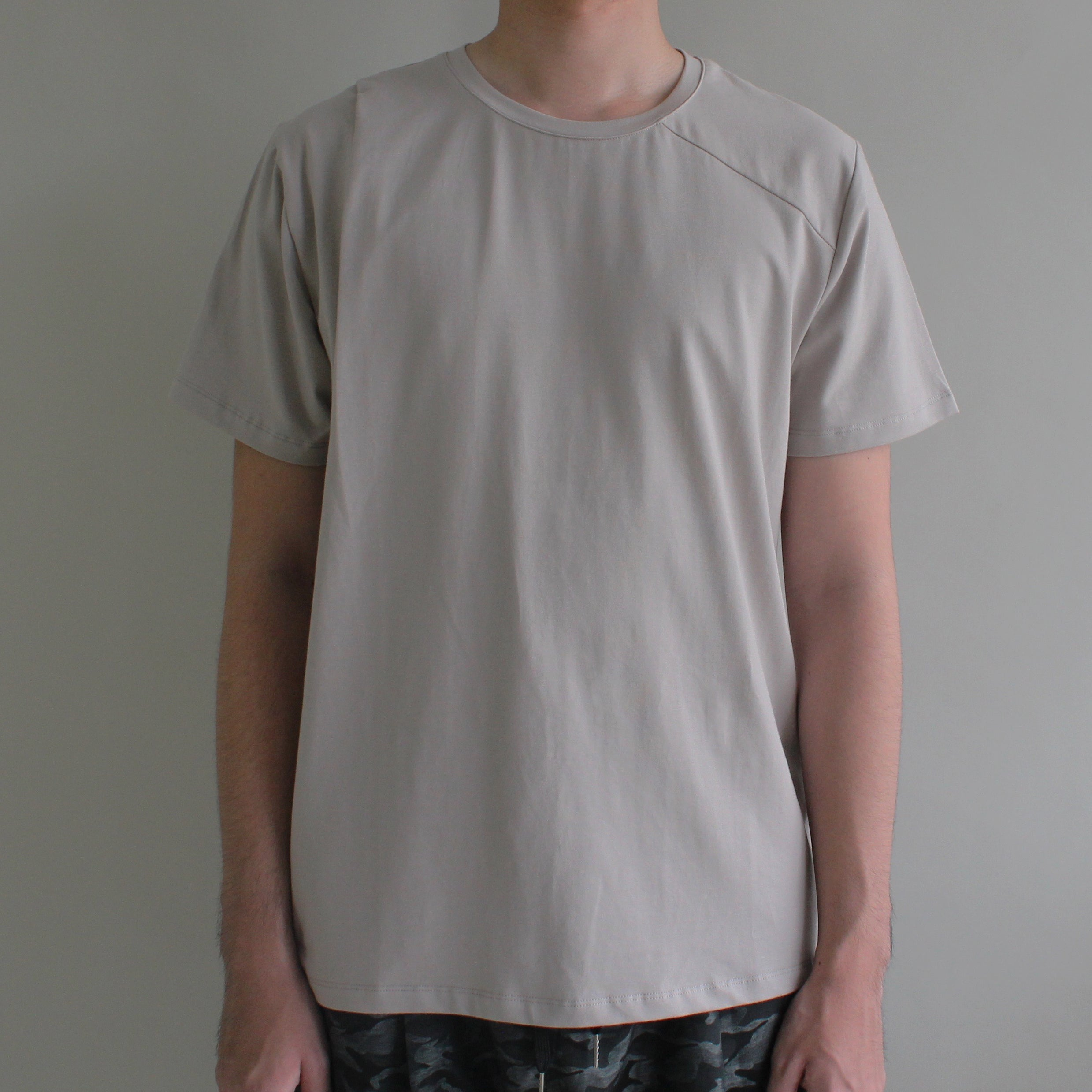 Irregular Pleated Tee