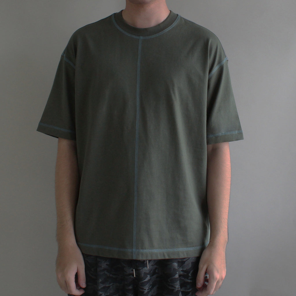C.stitched Tee