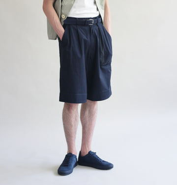 Wide Leg Tonal Shorts
