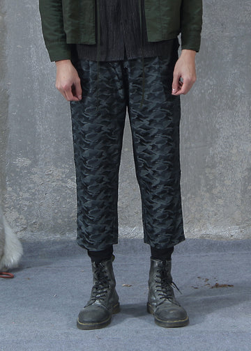 Layered Style Track Pants