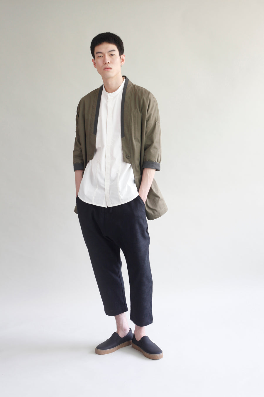 All-Season Button Kimono