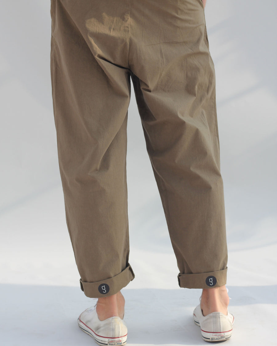 GRAYE | Relaxed Cotton Trousers