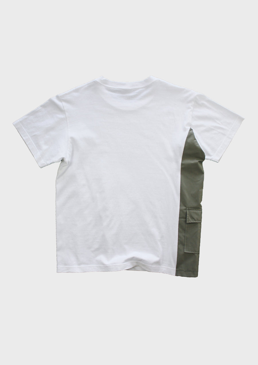 Spliced Tee - Artichoke Green