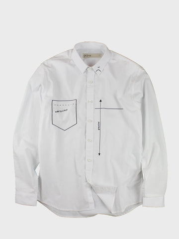 GRAYE | White Drafting Shirt