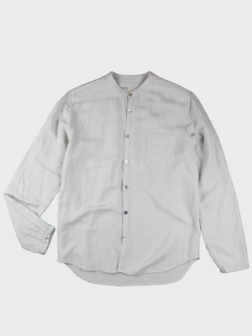 GRAYE | Cloud Stand Collar Linen Shirt