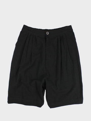 GRAYE | Dropped Crotch Linen Shorts