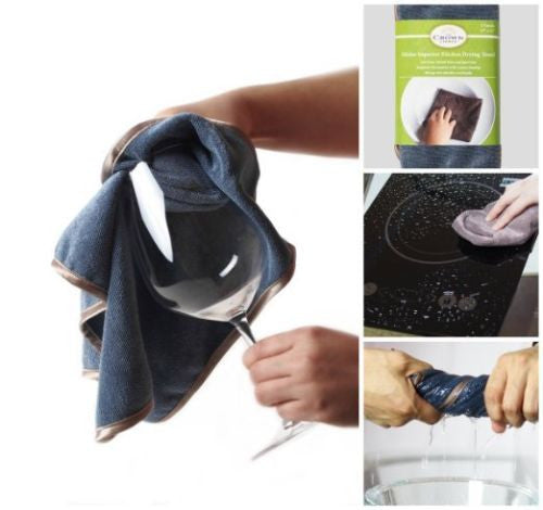 Cloths Towels for Cleaning, Drying, Wiping, Wine Glass, Stemware (2 Pk)