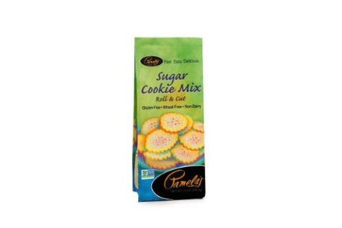 Pamela's Products Gluten Free Cookie Mix, Sugar, 13 Ounce