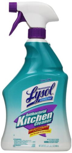 Lysol Professional Antibacterial Kitchen Cleaner, 32 Ounce
