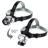 Lighting Ever Led Headlamp 18 White Led And 2 Red Led  Led Headlamps