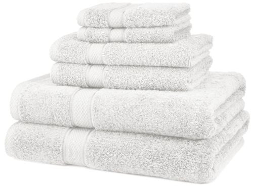 Matimati Bamboo Baby Washcloths (6-pack) Premium Extra Soft & Absorbent Towels
