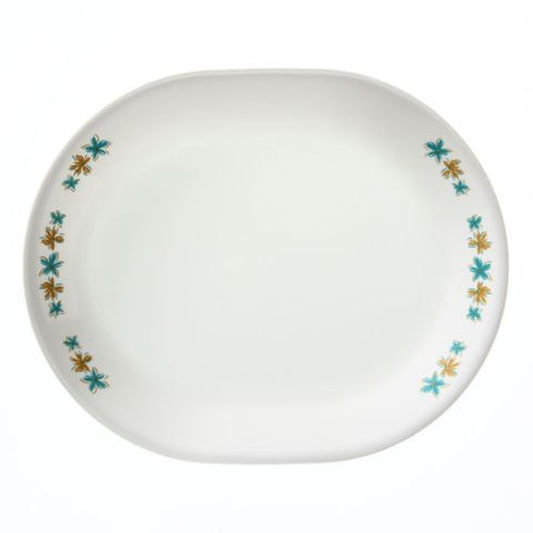 "Corelle Hawaiian 12-1/4"" Serving Platter"