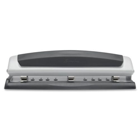 Swingline Desktop Hole Punch Precision Pro 2-3 Holes Adjustable Centers 10Sheets