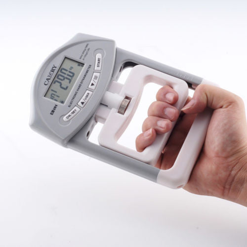 CAMRY  200 Lbs Digital Hand Dynamometer Grip Strength Training Measurement Meter