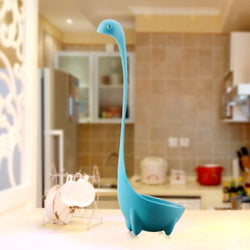 Creative Kitchen PP The Loch Ness Monster Style Ladle – Light Blue