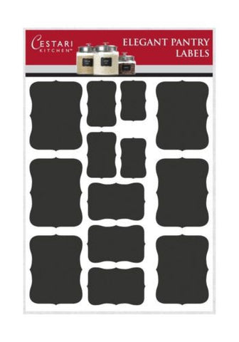 Chalkboard Labels Set of 52 Premium Fancy Blackboard Stickers for Organization