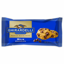 Ghirardelli Chocolate Baking Chips, Milk Chocolate, 11.5 oz., 6 Count