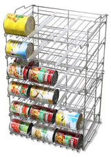 Supreme Stackable Can Rack Organizer, Chrome Finish