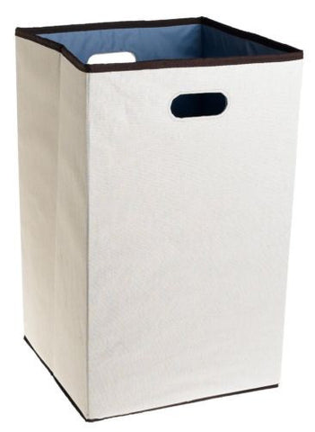 Rubbermaid Configurations Custom Closet Folding Laundry Hamper Natural, 23""