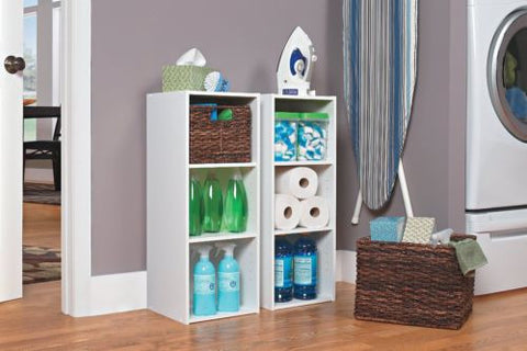ClosetMaid 8987 Stackable 3-Shelf Closet Organizer, White