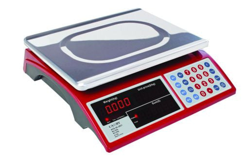 Camry Digital Commercial Price Scale 33lb / 15kg Rechargeable Battery  LED