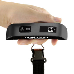 Travel Inspira 50kg/10g Portable LCD Digital Hanging Luggage Weight Scale New BK