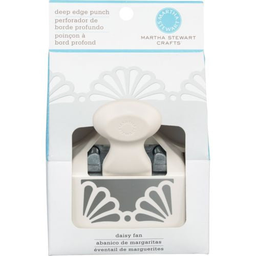 Martha Stewart Crafts Deep Edger Punch, Daisy Fan